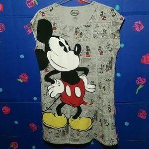 Disney Mickey Mouse Night Shirt 2X-3X